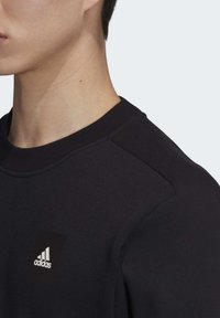 adidas Performance - MUST HAVES CREW SWEATSHIRT - Sweatshirt - black - 6