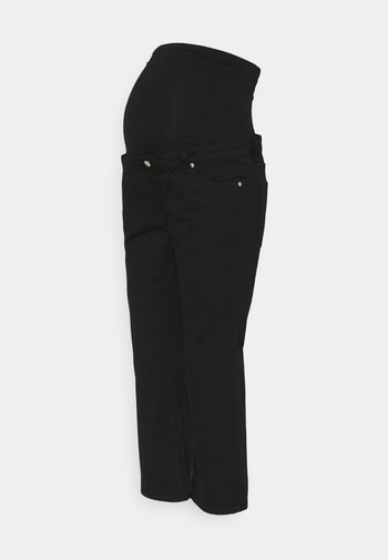 CROPPED - Relaxed fit jeans - black