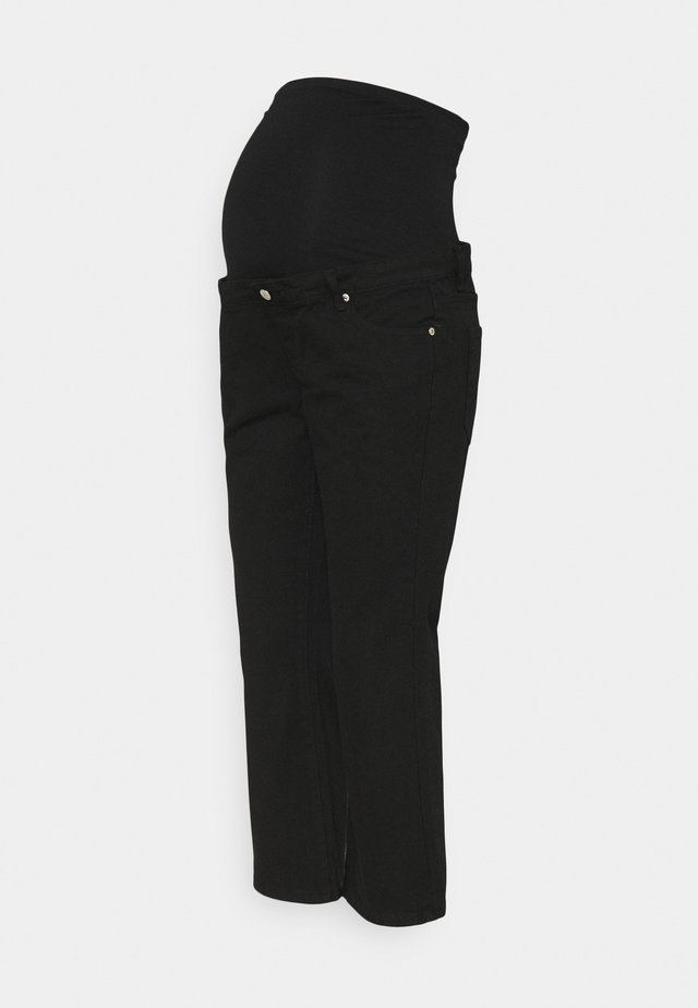 CROPPED - Džíny Relaxed Fit - black