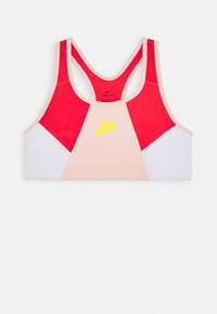 Nike Sportswear - NIKE SPORT-BH FÜR ÄLTERE KINDER (MÄDCHEN) - Bustier - washed coral/track red/speed yellow - 0
