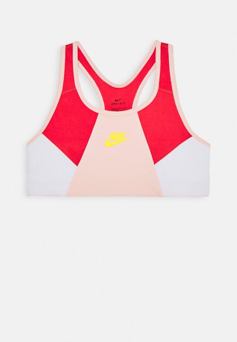 Nike Sportswear - NIKE SPORT-BH FÜR ÄLTERE KINDER (MÄDCHEN) - Bustier - washed coral/track red/speed yellow