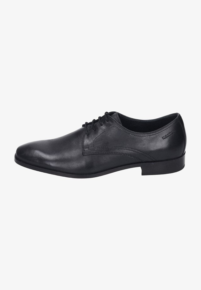 Smart lace-ups - schwarz