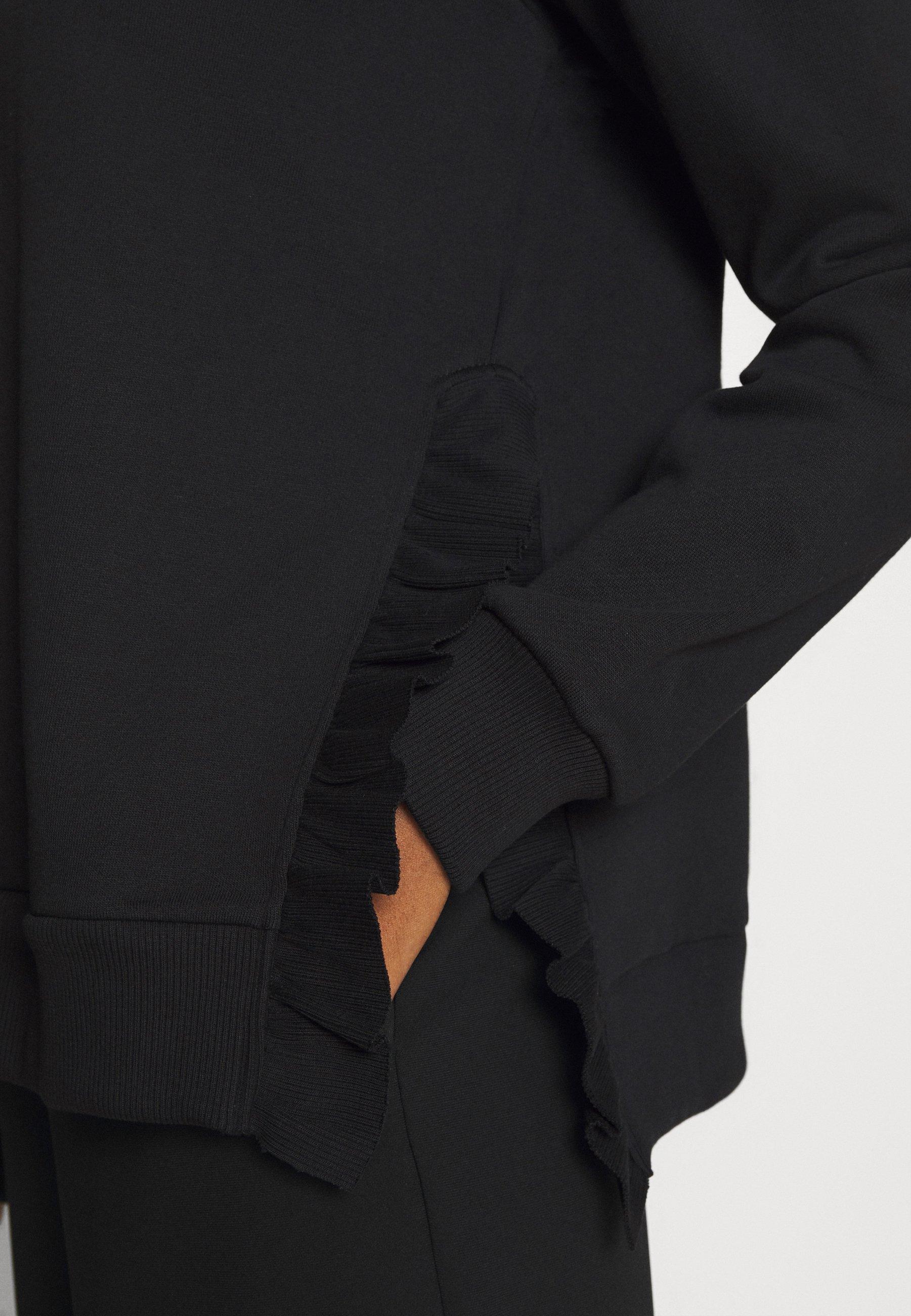 Bruuns Bazaar RUBINE RUFFLE - Sweatshirts - black -  SNLqv