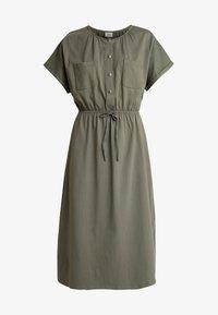 JDY - JDYPERNILLE DRESS - Žerzejové šaty - kalamata - 4
