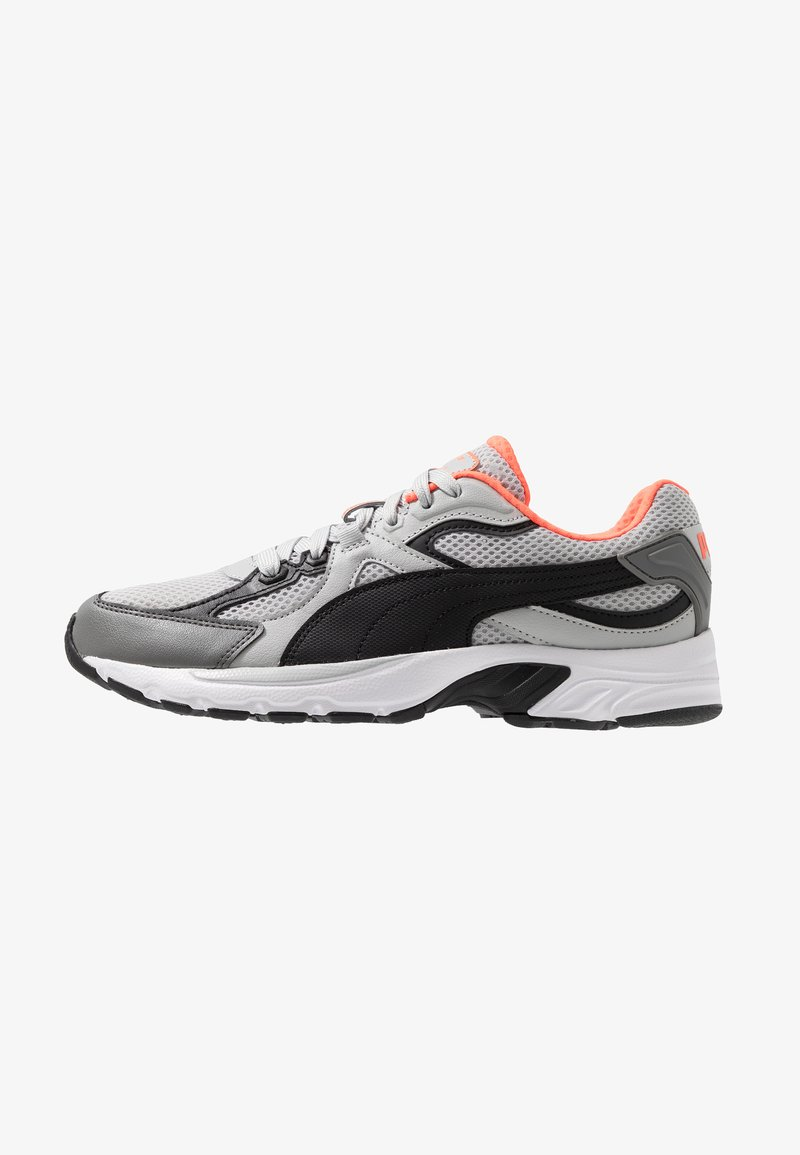 Puma - AXIS PLUS 90'S - Sneakers - high rise/black/castlerock/nrgy red/white