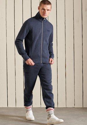 VINTAGE - Zip-up sweatshirt - vintage navy marl
