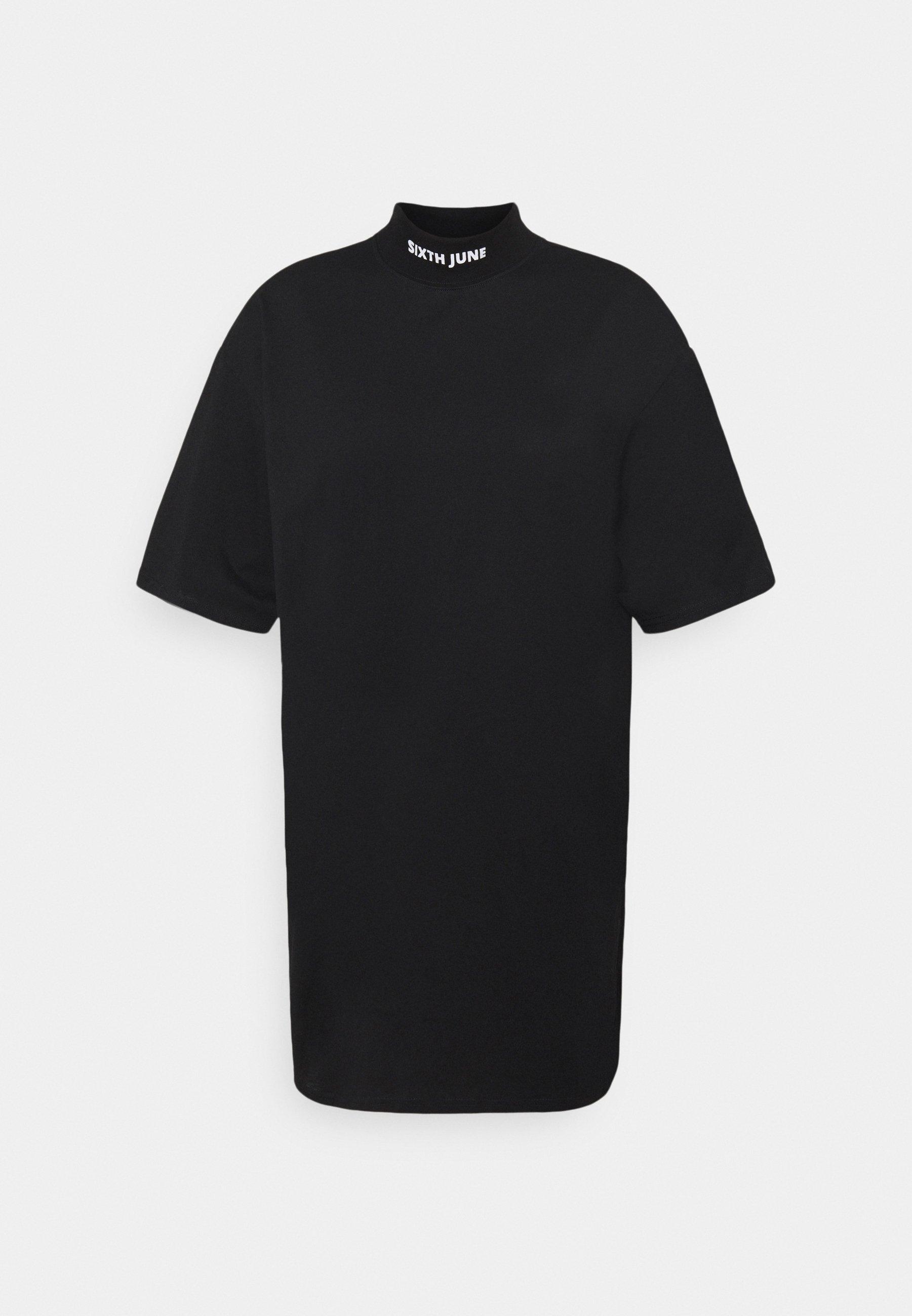 Damen HIGH NECK DRESS - Jerseykleid