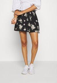 Vero Moda - VMSIMPLY EASY SKATER - A-line skirt - black - 0