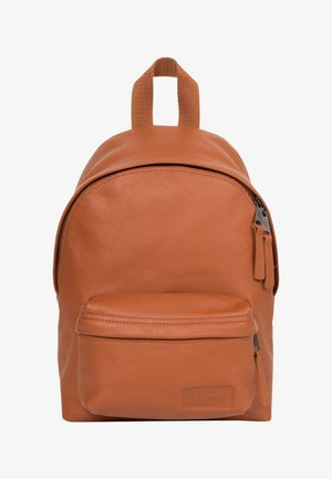 LEATHER / TRIBUTE - Mochila - brown