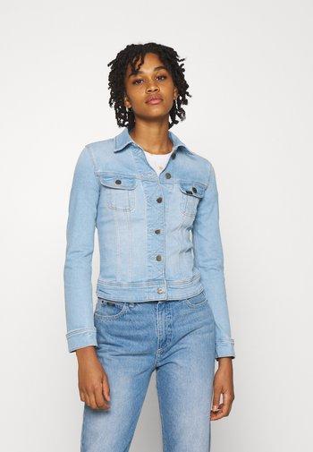 SLIM RIDER - Denim jacket - bleached azur