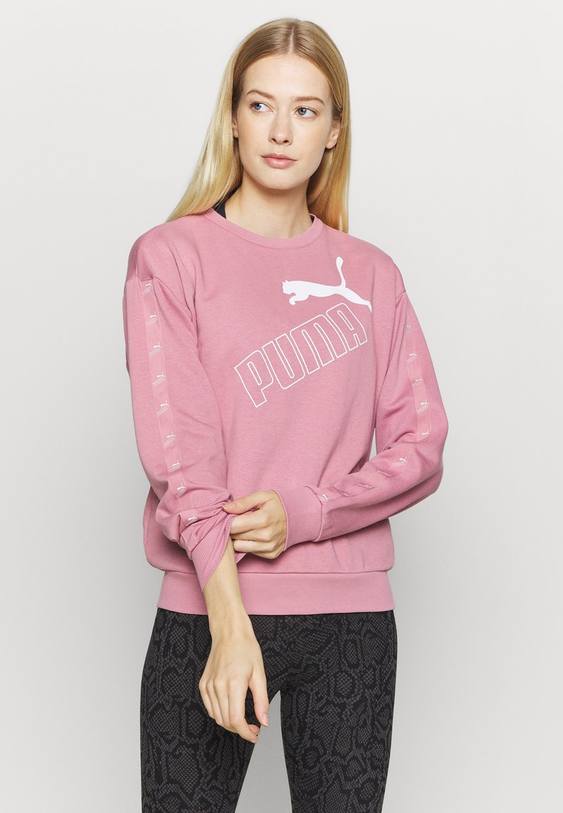 Puma - AMPLIFIED CREW - Sweatshirt - foxglove