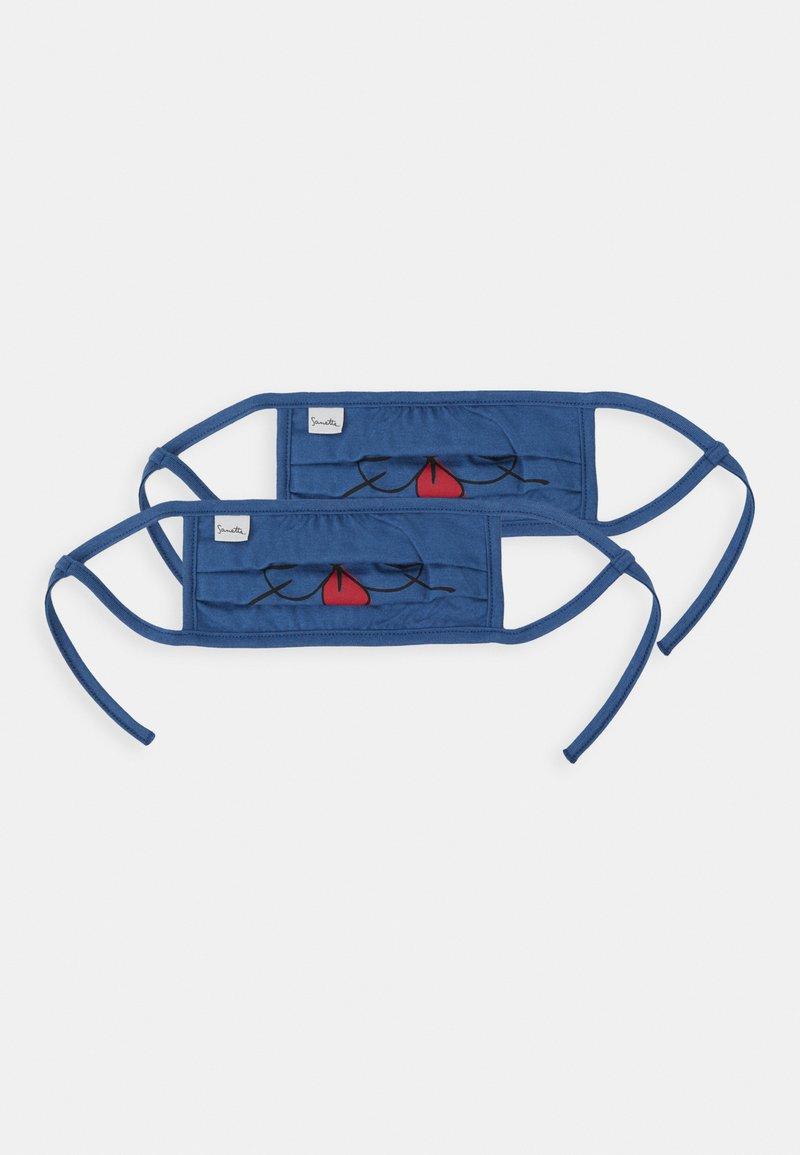 Sanetta - FACEMASK 2 PACK - Stoffen mondkapje - dark blue