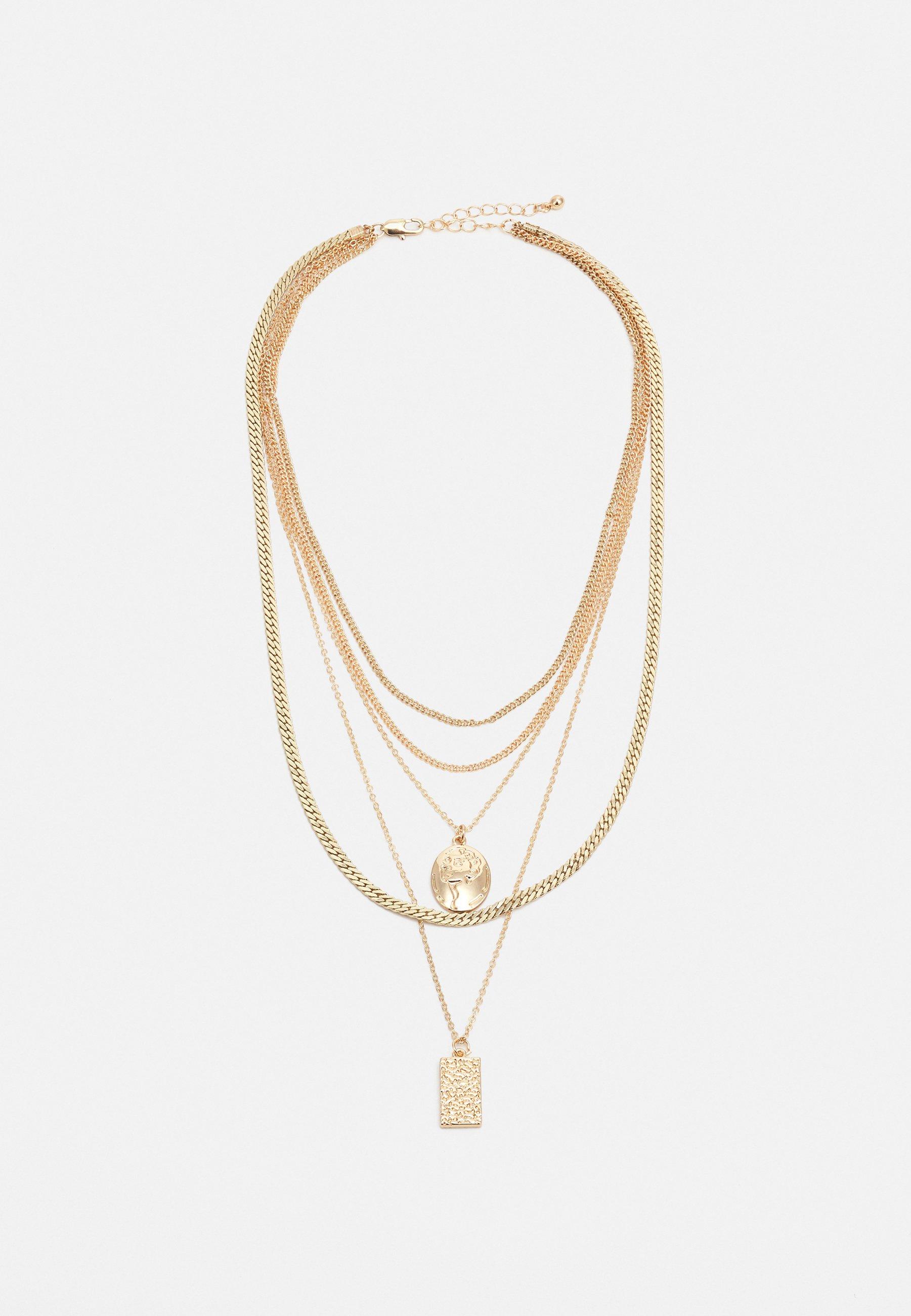 Damen PCKELLIGE COMBI NECKLACE - Halskette