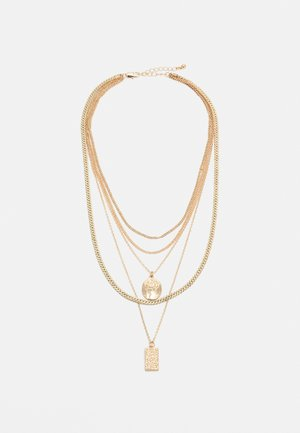 PCKELLIGE COMBI NECKLACE - Naszyjnik - gold-coloured