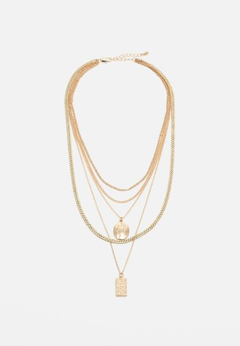 PCKELLIGE COMBI NECKLACE - Necklace - gold-coloured