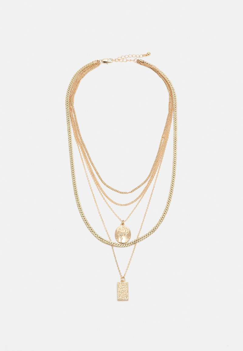Pieces - PCKELLIGE COMBI NECKLACE - Smykke - gold-coloured