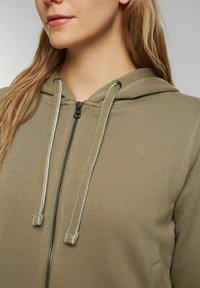 edc by Esprit - Zip-up sweatshirt - khaki - 3