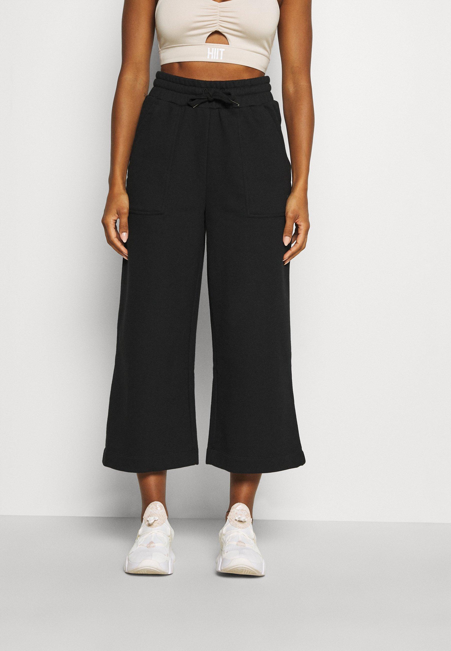 Femme WIDE LEG CULOTTE - Pantalon de survêtement