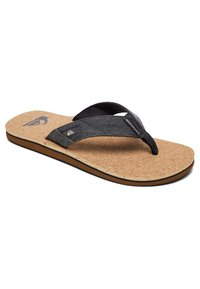 Quiksilver - MOLO ABYSS - T-bar sandals - black/brown - 2