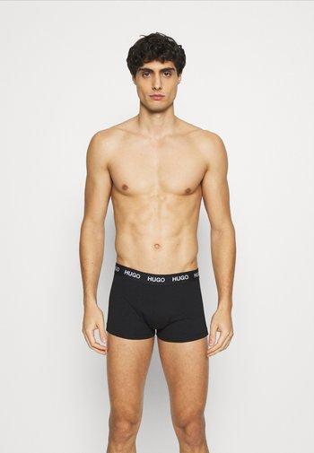 TRUNK TRIPLET 3 PACK - Underkläder - black/white/red