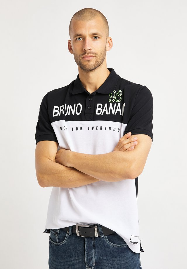 Polo shirt - schwarz weiß
