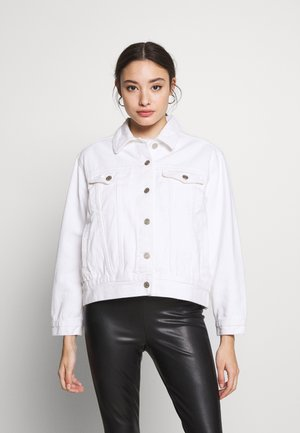 JACKET - Spijkerjas - white