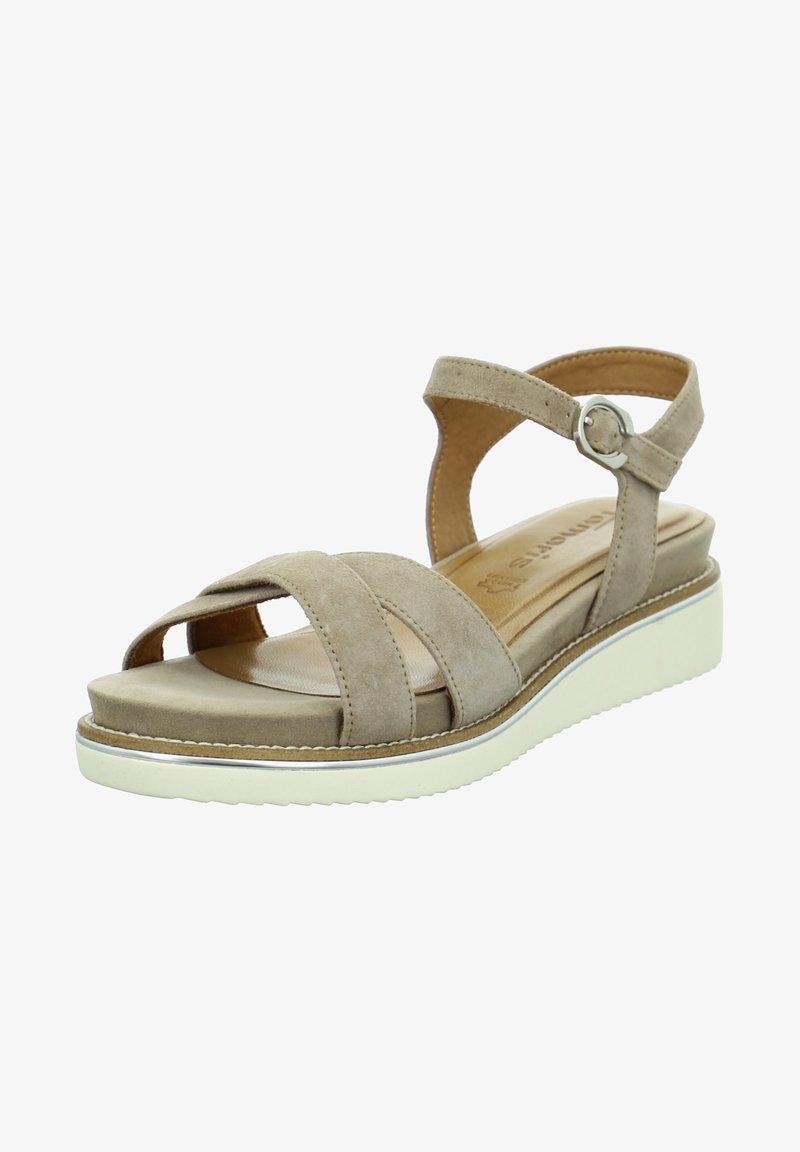 Tamaris - Sandals - taupe