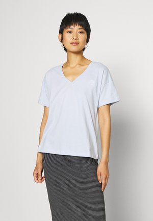 BLOSSOM TEE - Basic T-shirt - xenon blue