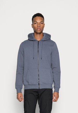 STEVALF MAN - Zip-up sweatshirt - light indigo