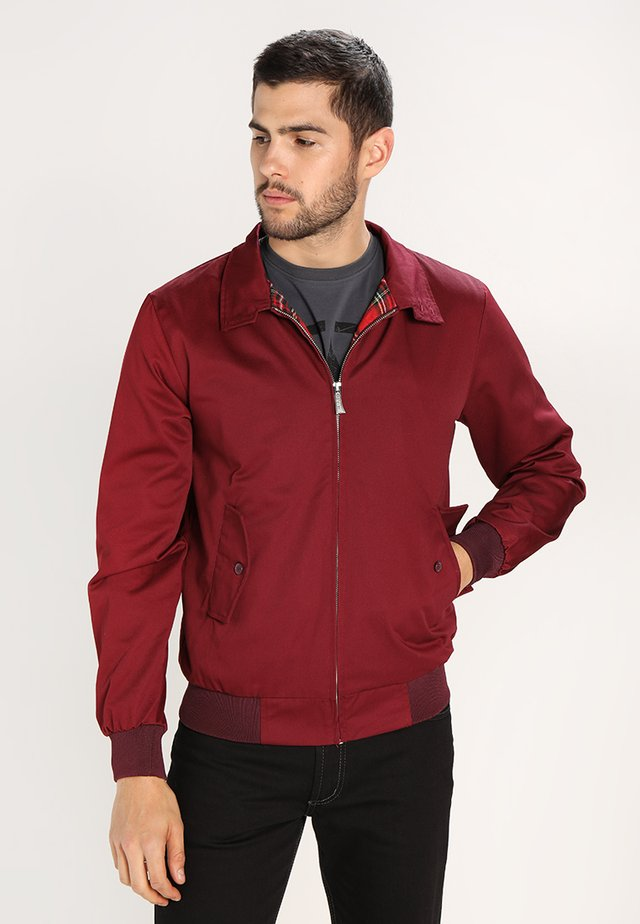 HARRINGTON - Giubbotto Bomber - bordeaux