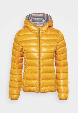Vinterjakke - golden yellow