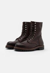 Belstaff - MARSHALL - Bottes à lacets - tobacco - 1