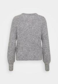 Moss Copenhagen - DEANNA CARDIGAN - Neuletakki - mottled grey - 1