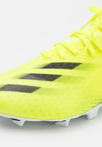 adidas Performance - X GHOSTED.3 FG - Kopačky lisovky - solar yellow/core black/royal blue - 5