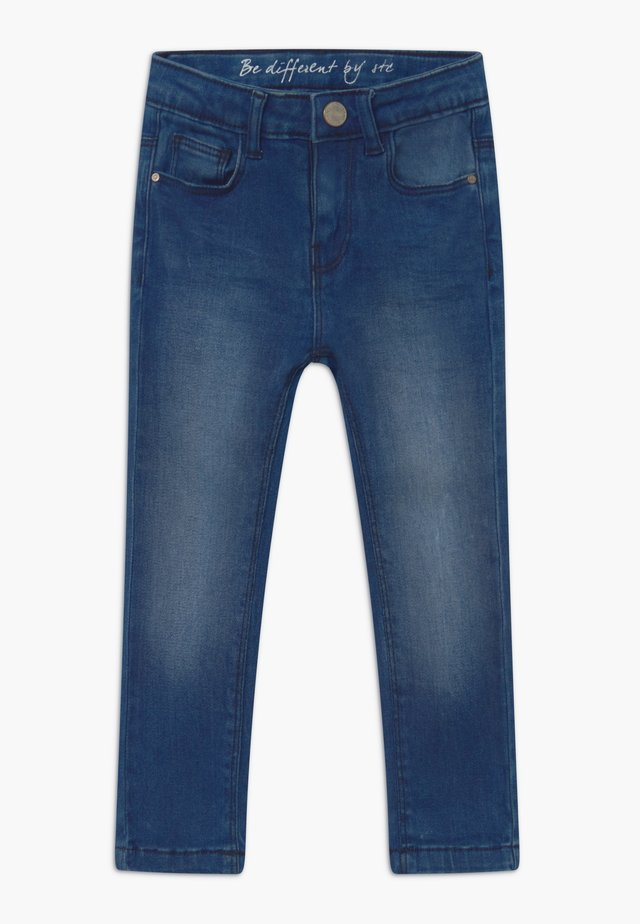SKINNY KID - Jeans Skinny - mid blue denim