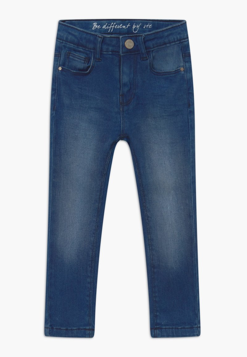 Staccato - SKINNY KID - Jeans Skinny Fit - mid blue denim