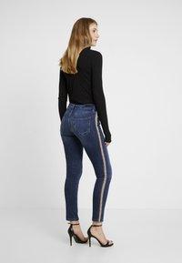 Rich & Royal - LEOPARD TAPE - Jeans Skinny Fit - denim blue - 2
