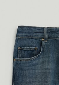 Massimo Dutti - Slim fit jeans - dark blue
