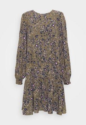 VMSANDRA ONECK SHORT DRESS - Day dress - beech