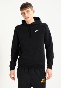 Nike Sportswear - CLUB HOODIE - Hoodie - black - 0