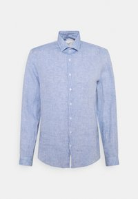 Calvin Klein Tailored - SOLID SLIM SHIRT - Formal shirt - blue - 0