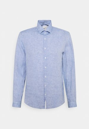SOLID SLIM SHIRT - Kostymskjorta - blue