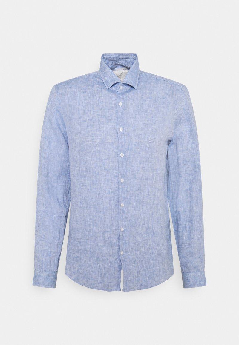 Calvin Klein Tailored - SOLID SLIM SHIRT - Formal shirt - blue