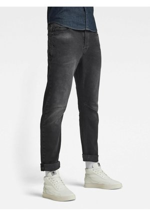 A-STAQ - Jeans Tapered Fit - faded charcoal
