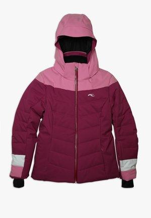 GIRLS MADLAIN JACKET - Lyžařská bunda - fruity pink