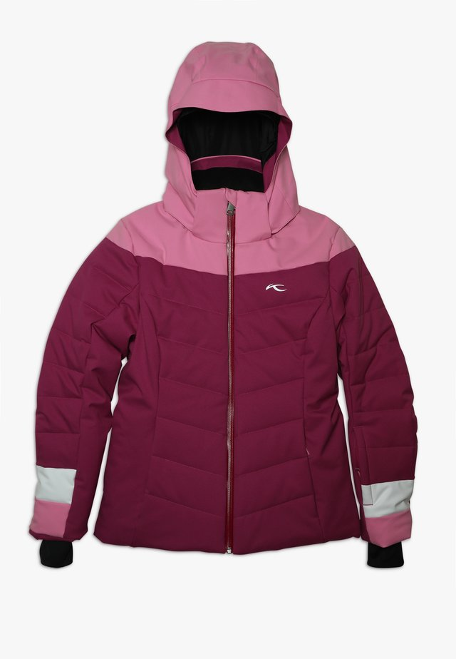 GIRLS MADLAIN JACKET - Kurtka narciarska - fruity pink