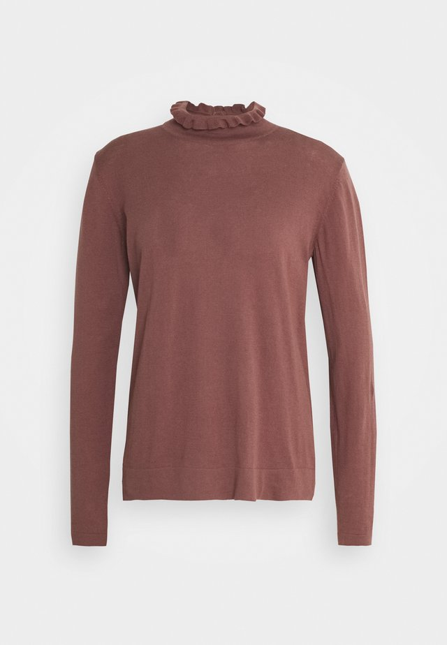 ESSENTIAL - Jumper - brown rose