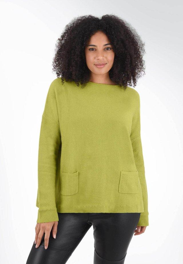 Sweter - dark yellow