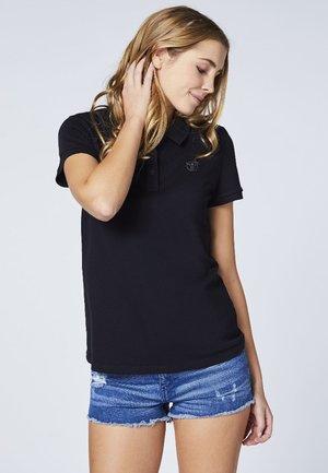 Polo shirt - deep black