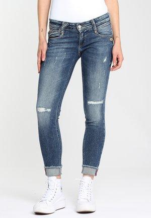 CROPPED - Jeans Skinny Fit - destroyed denim